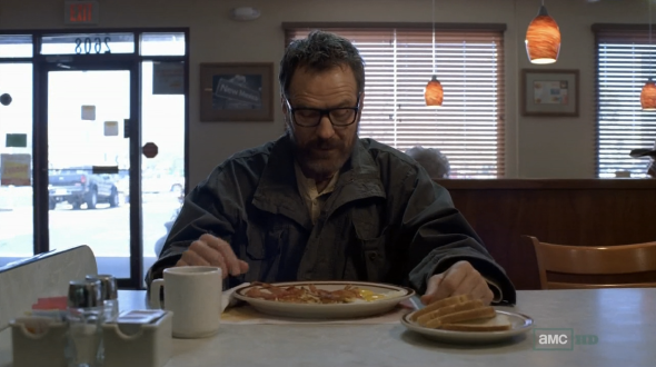Breaking Bad and Denny's: A match made in heaven.